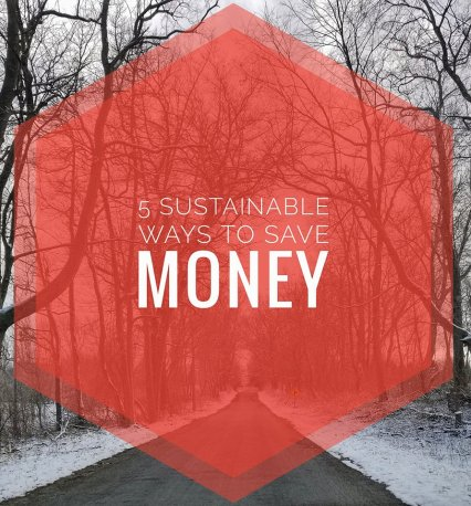 5 sustainable ways to save money
